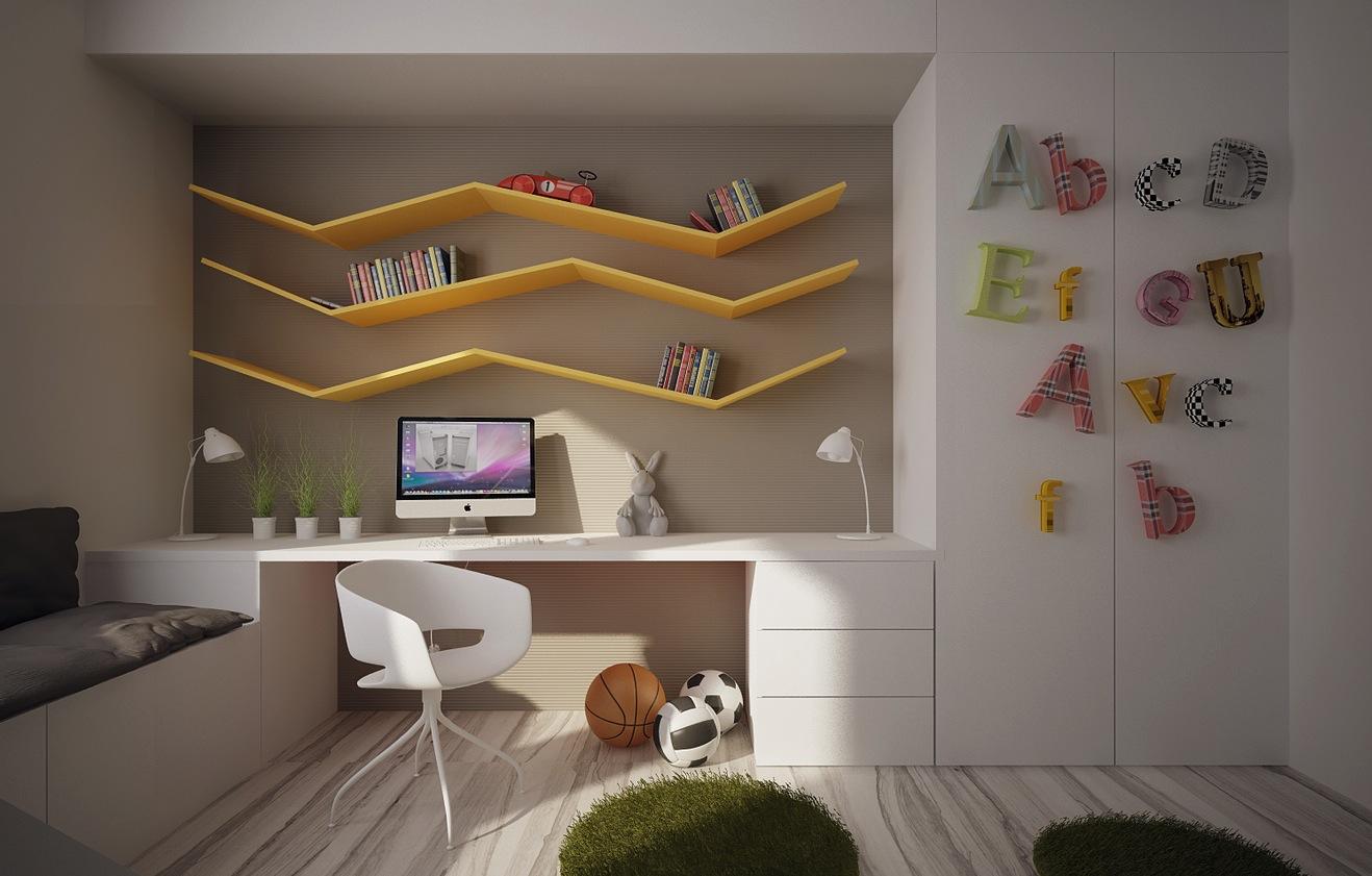 built in bedroom furniture for kids photo - 9