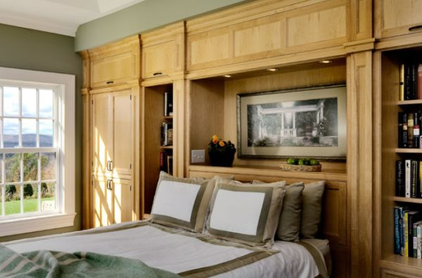 built in bedroom furniture ideas photo - 2