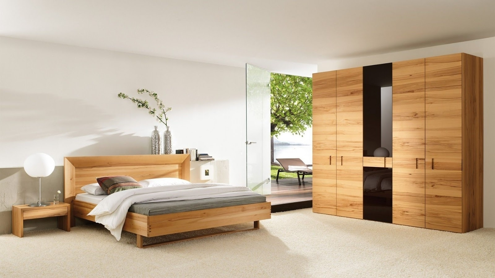 built in bedroom furniture ideas photo - 8