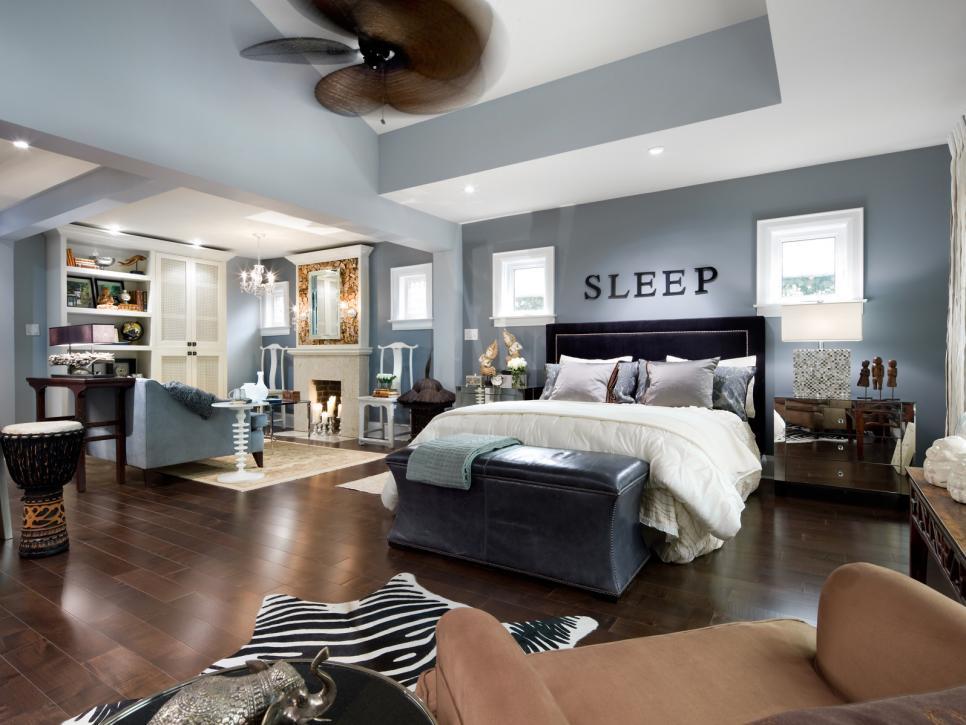 candice olson bedroom blue photo - 1