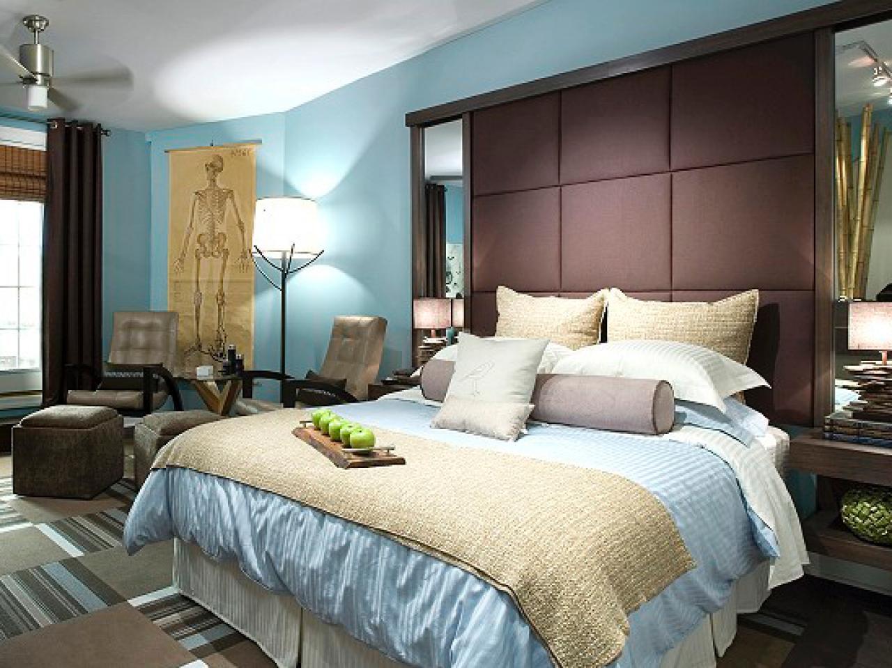 candice olson bedroom blue photo - 4