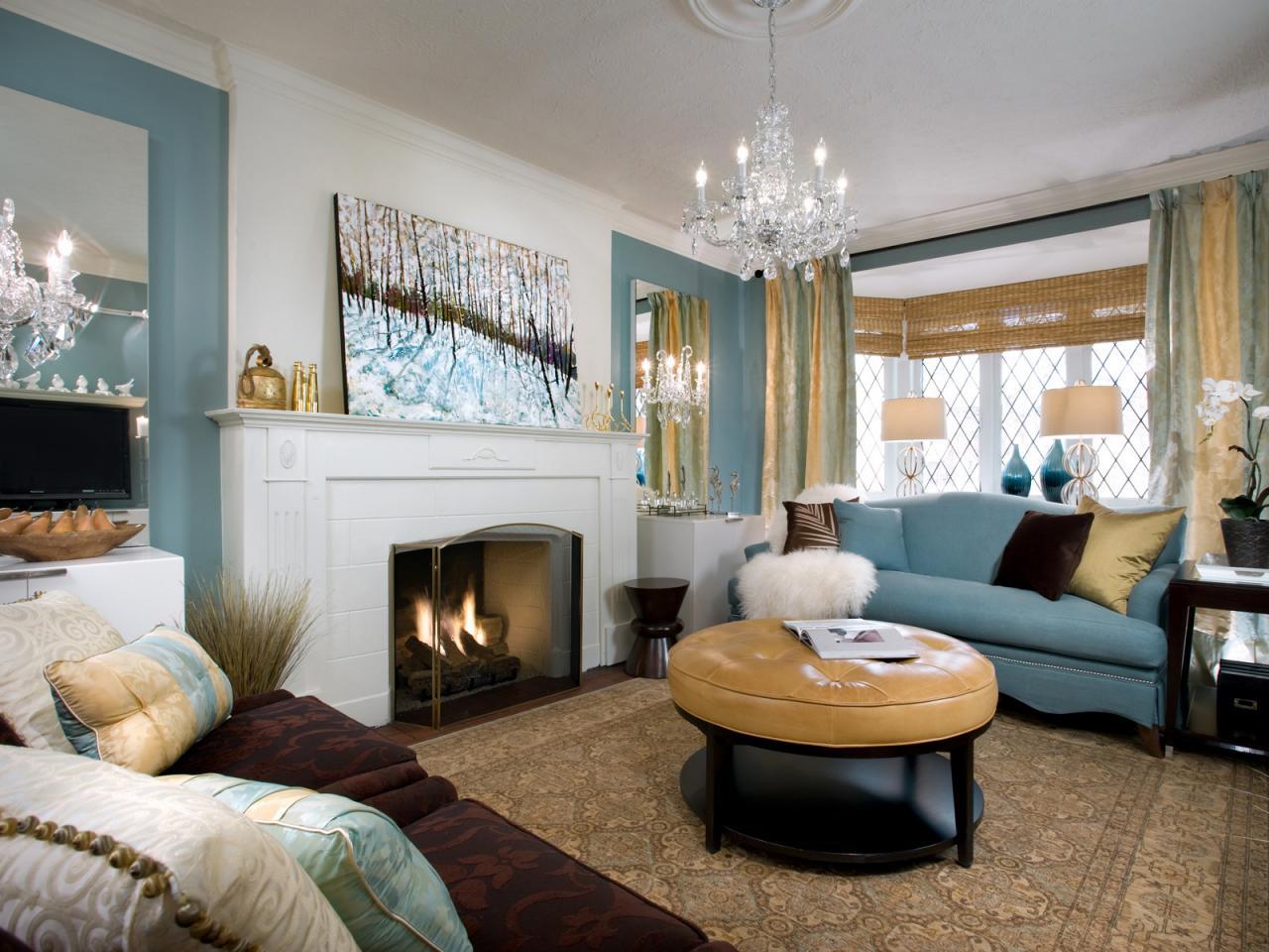 candice olson bedroom fireplace photo - 1