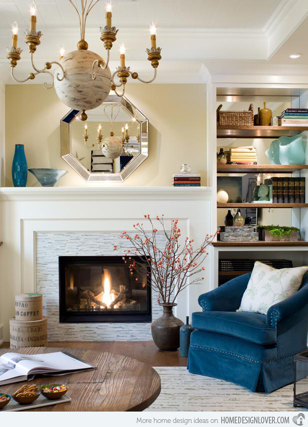candice olson bedroom fireplace photo - 4