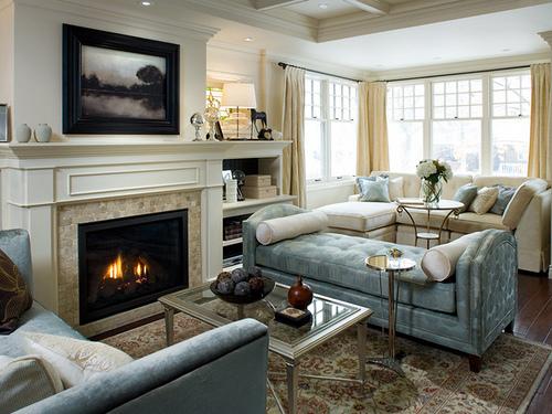 candice olson bedroom fireplace photo - 5