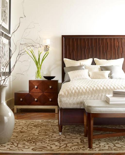candice olson contemporary bedroom photo - 1