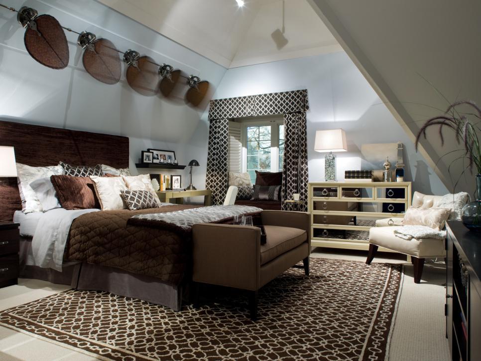 candice olson contemporary bedroom photo - 4