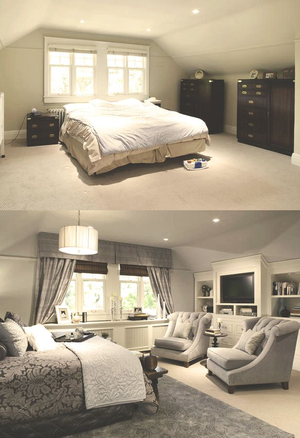 candice olson designs before and after photo - 2
