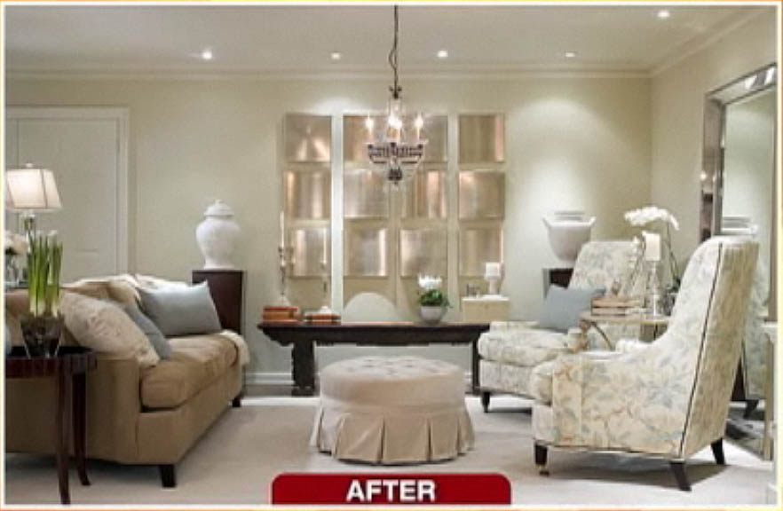 candice olson designs before and after photo - 8