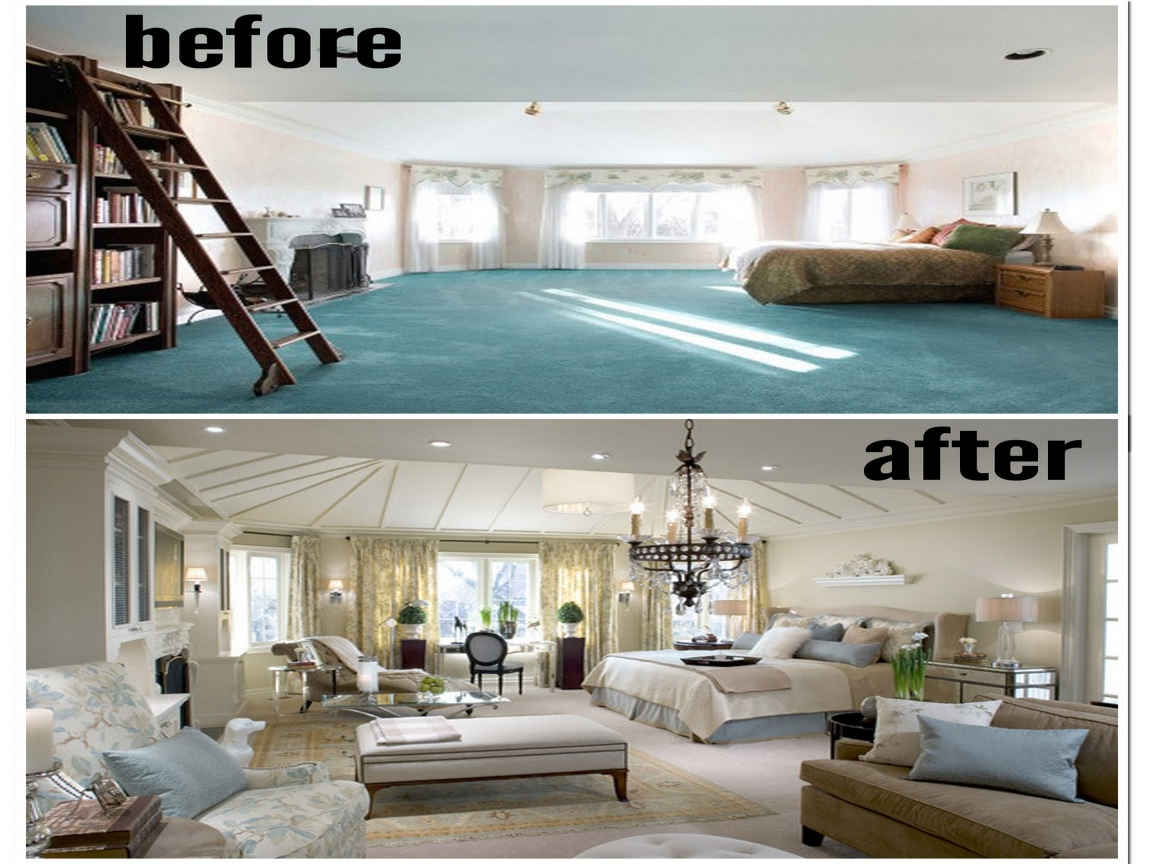 candice olson designs before and after photo - 9