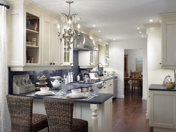 candice olson galley kitchen photo - 3