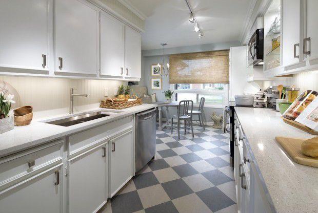 candice olson galley kitchen photo - 4