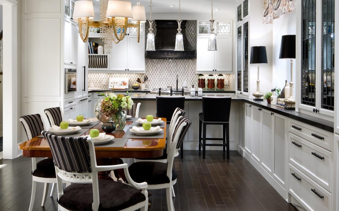 candice olson galley kitchen photo - 5
