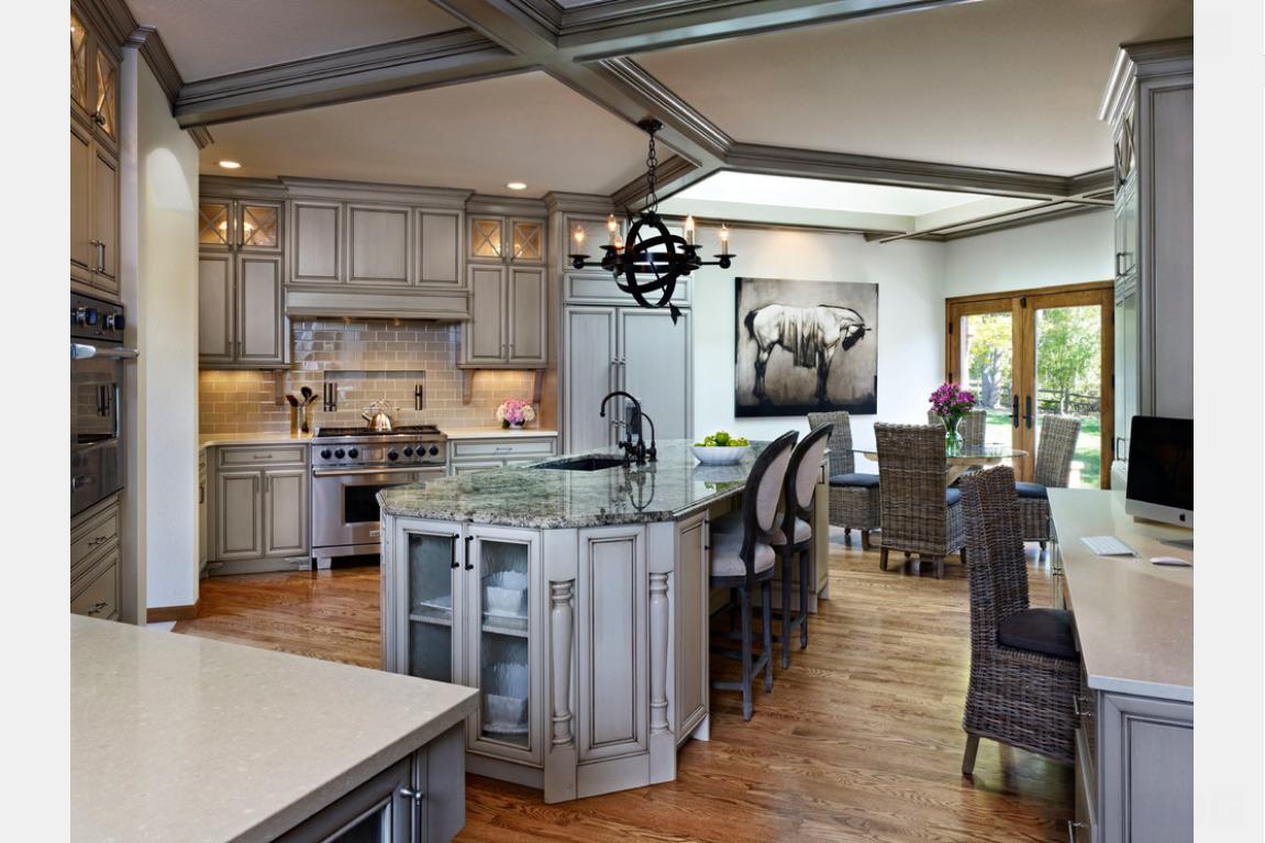 candice olson galley kitchen photo - 8
