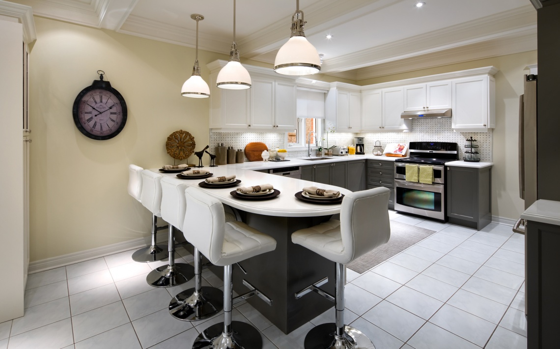 candice olson gray kitchen photo - 10
