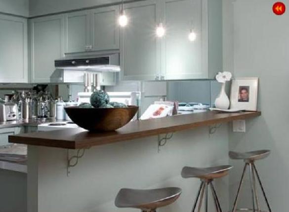 candice olson gray kitchen photo - 2