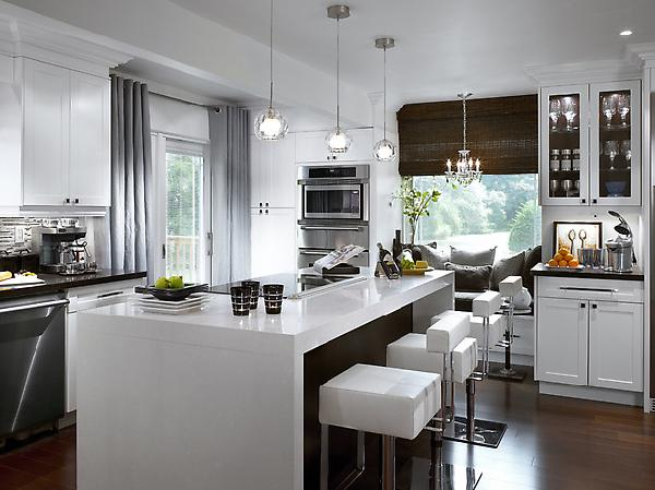 candice olson gray kitchen photo - 3