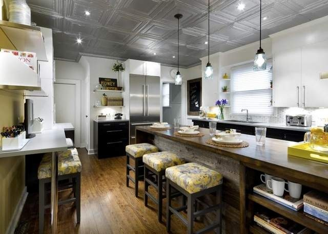 candice olson gray kitchen photo - 7