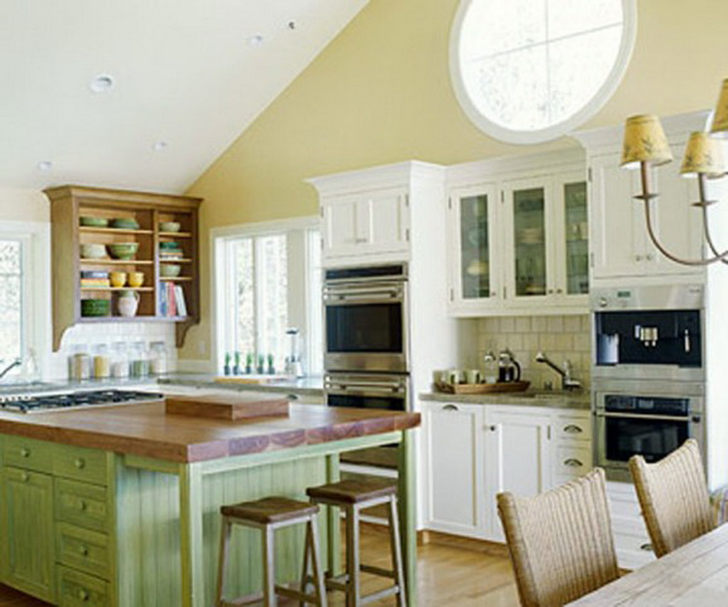 candice olson green kitchen photo - 8