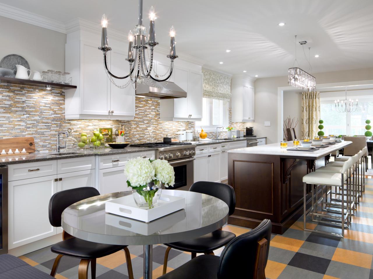 candice olson grey kitchen photo - 1
