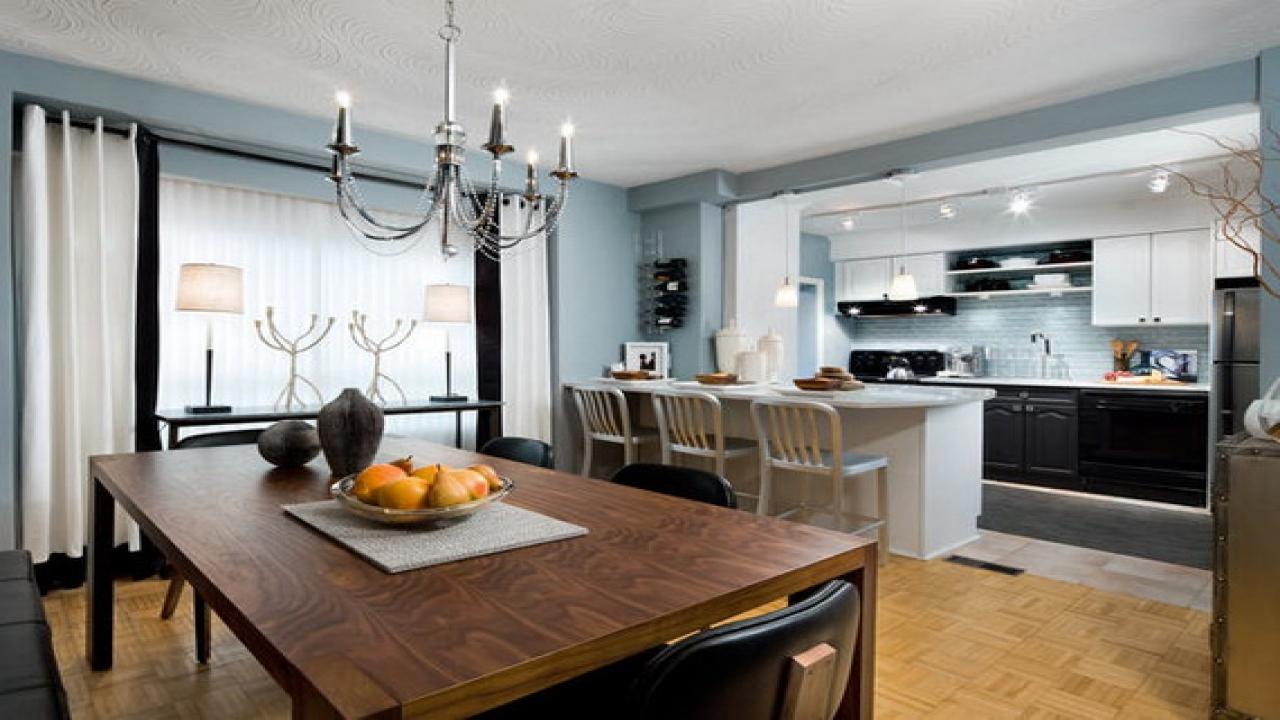 candice olson grey kitchen photo - 10
