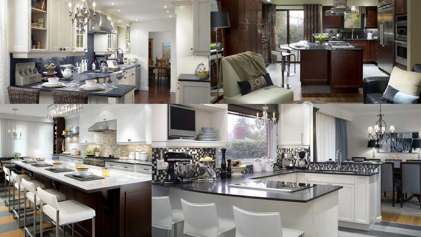 candice olson grey kitchen photo - 4