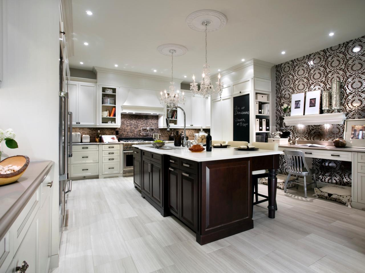 candice olson grey kitchen photo - 5