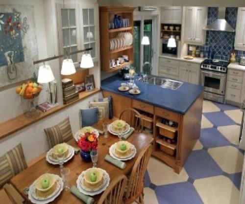 candice olson kitchen floor plan photo - 5