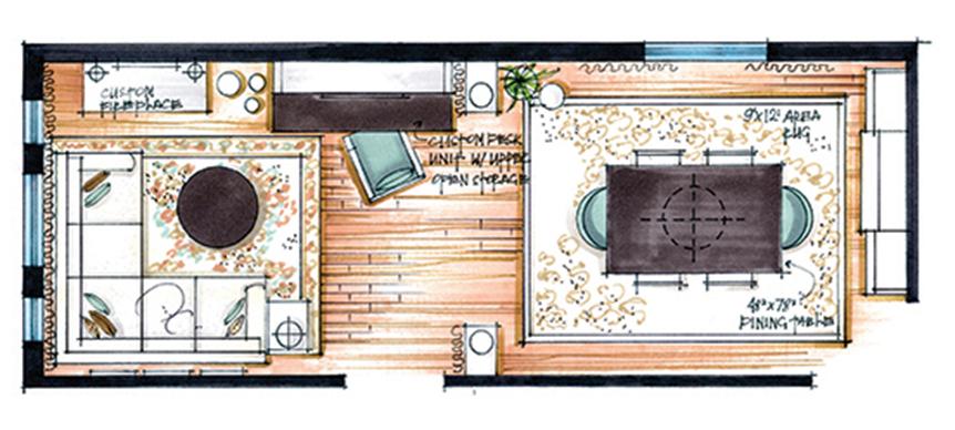 candice olson kitchen floor plan photo - 8