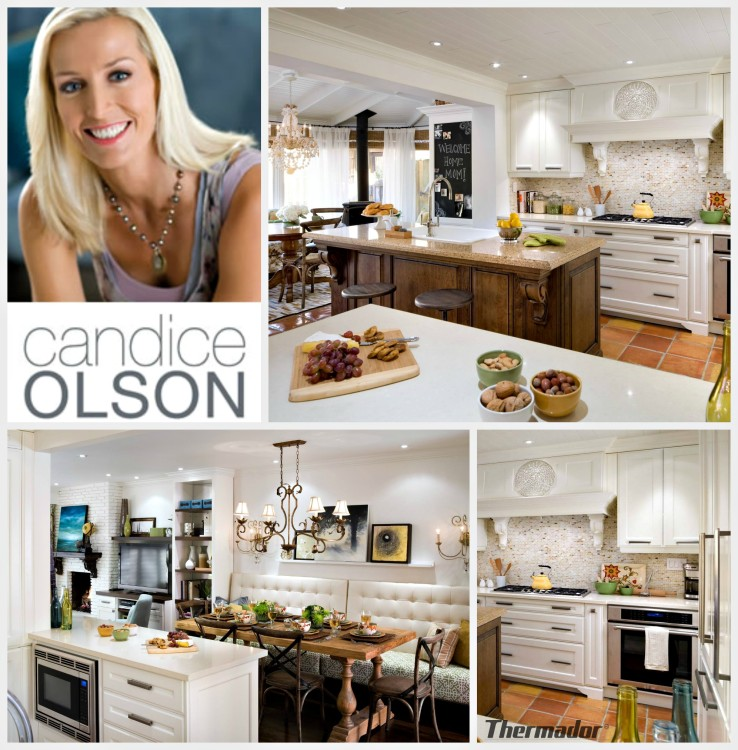 candice olson kitchen for her mom photo - 3