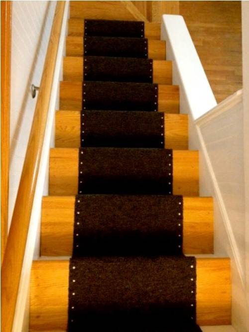 carpet runner for stairs home depot photo - 1
