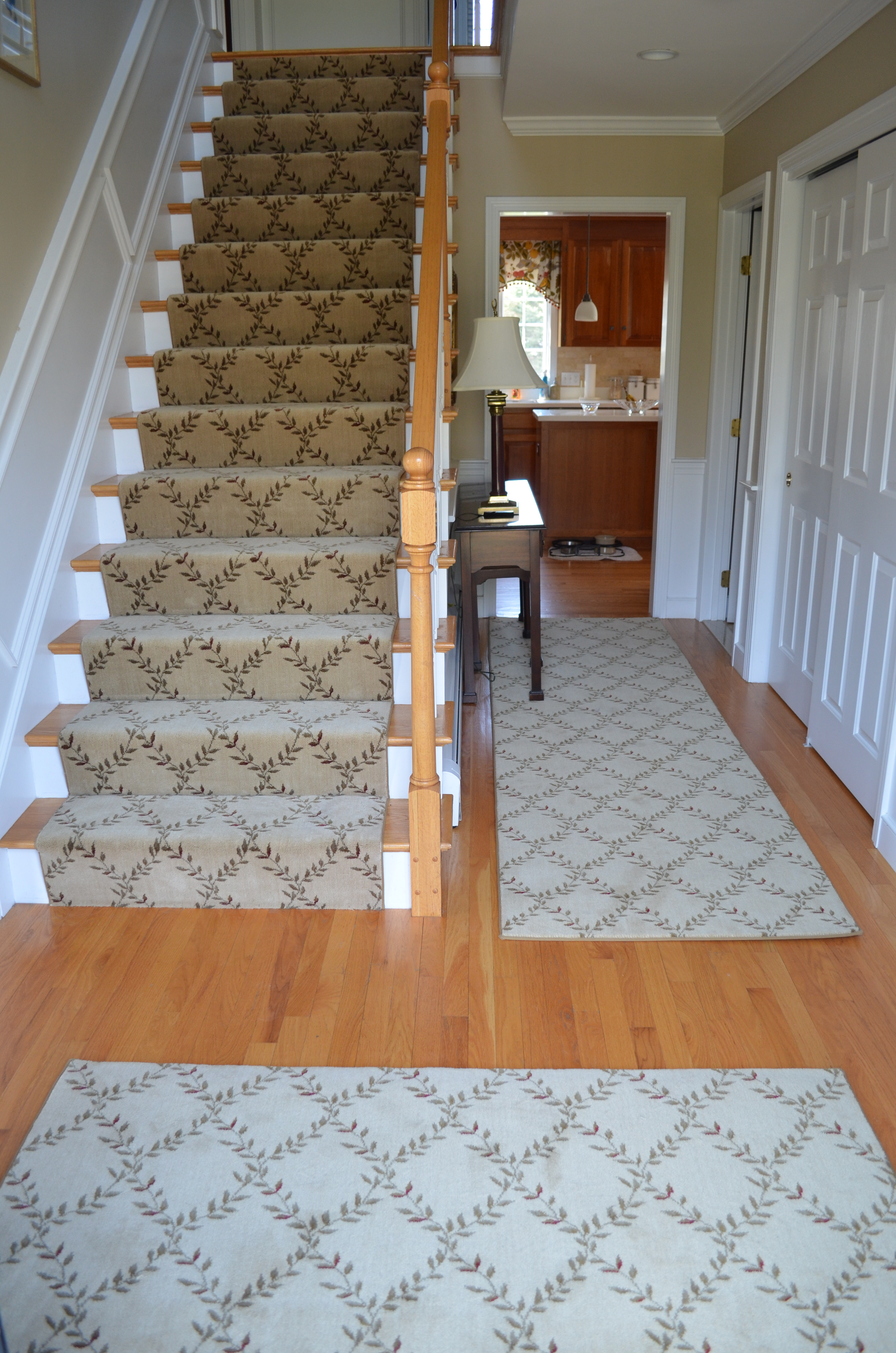 carpet runner for stairs ideas photo - 10