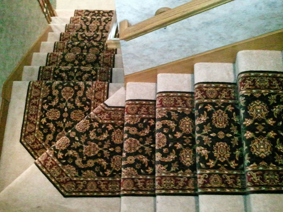 Put A Carpet Runner Over Carpeted Stairs Photos Freezer And Stair