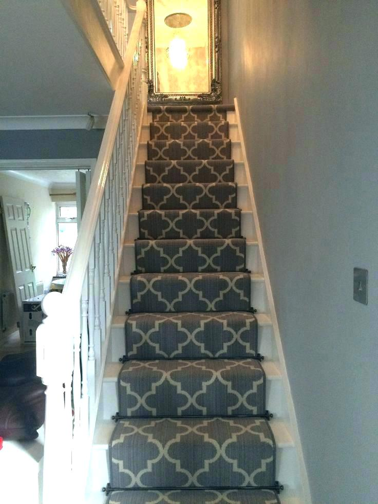 carpet runner for stairs with landing photo - 10