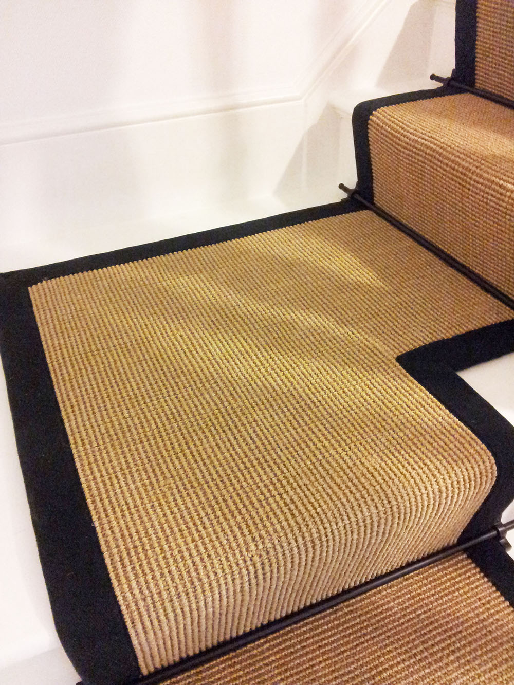 carpet runner for stairs with landing photo - 6
