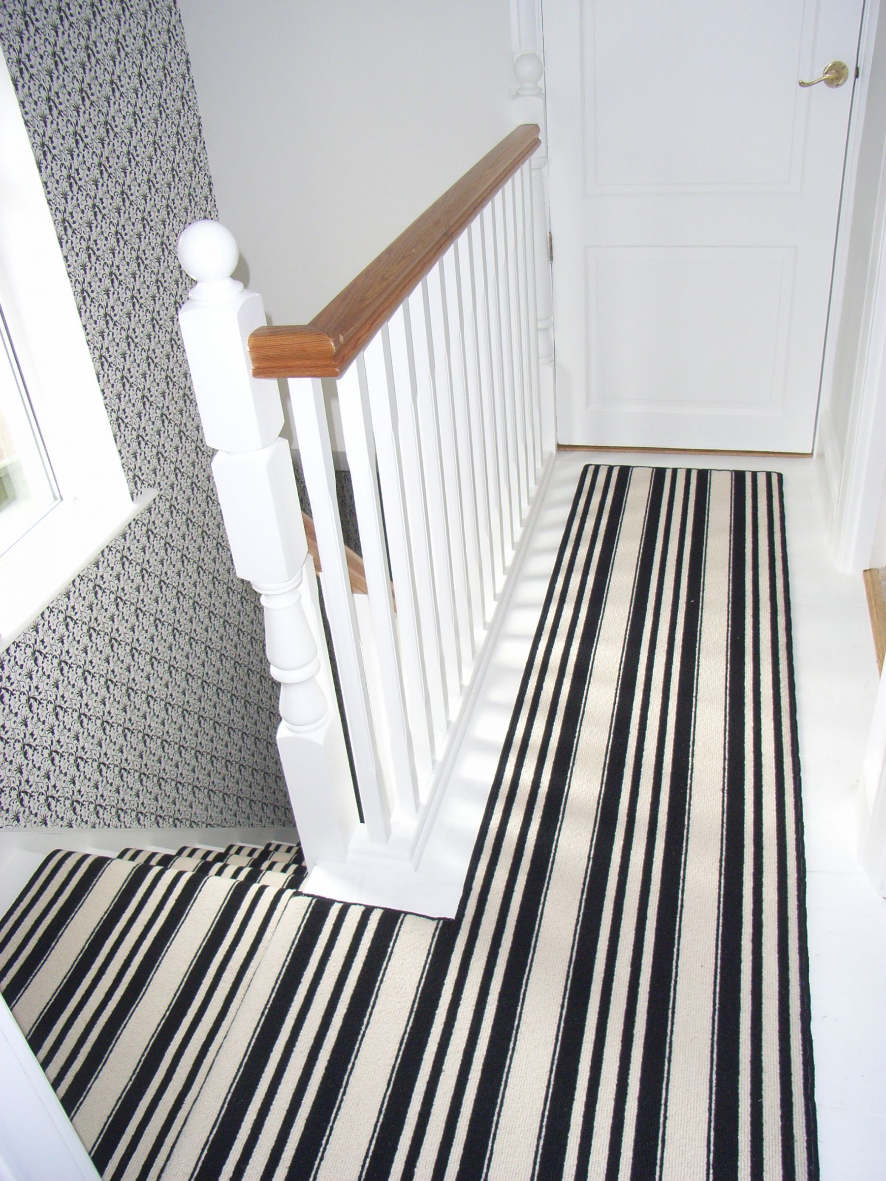carpet runner for stairs with landing photo - 9
