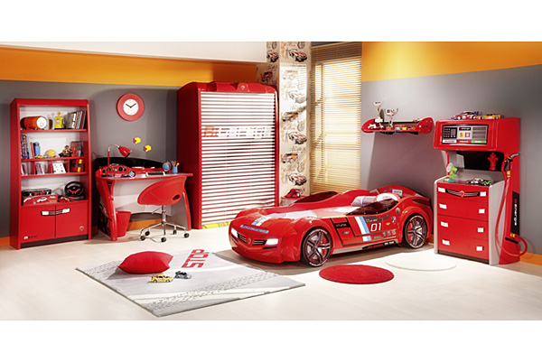 Cars Bedroom Furniture For Kids Photo 3