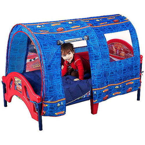 cars tent for toddler bed photo - 1