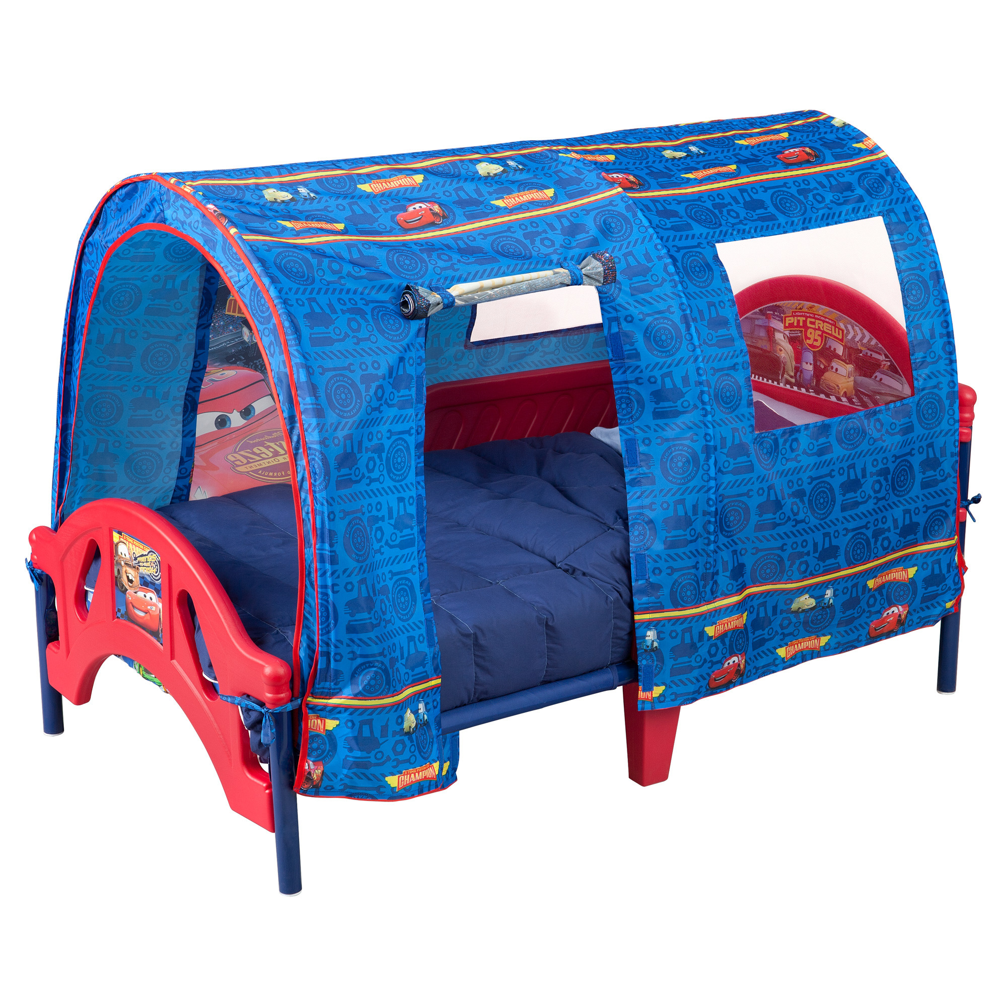 cars tent for toddler bed photo - 3