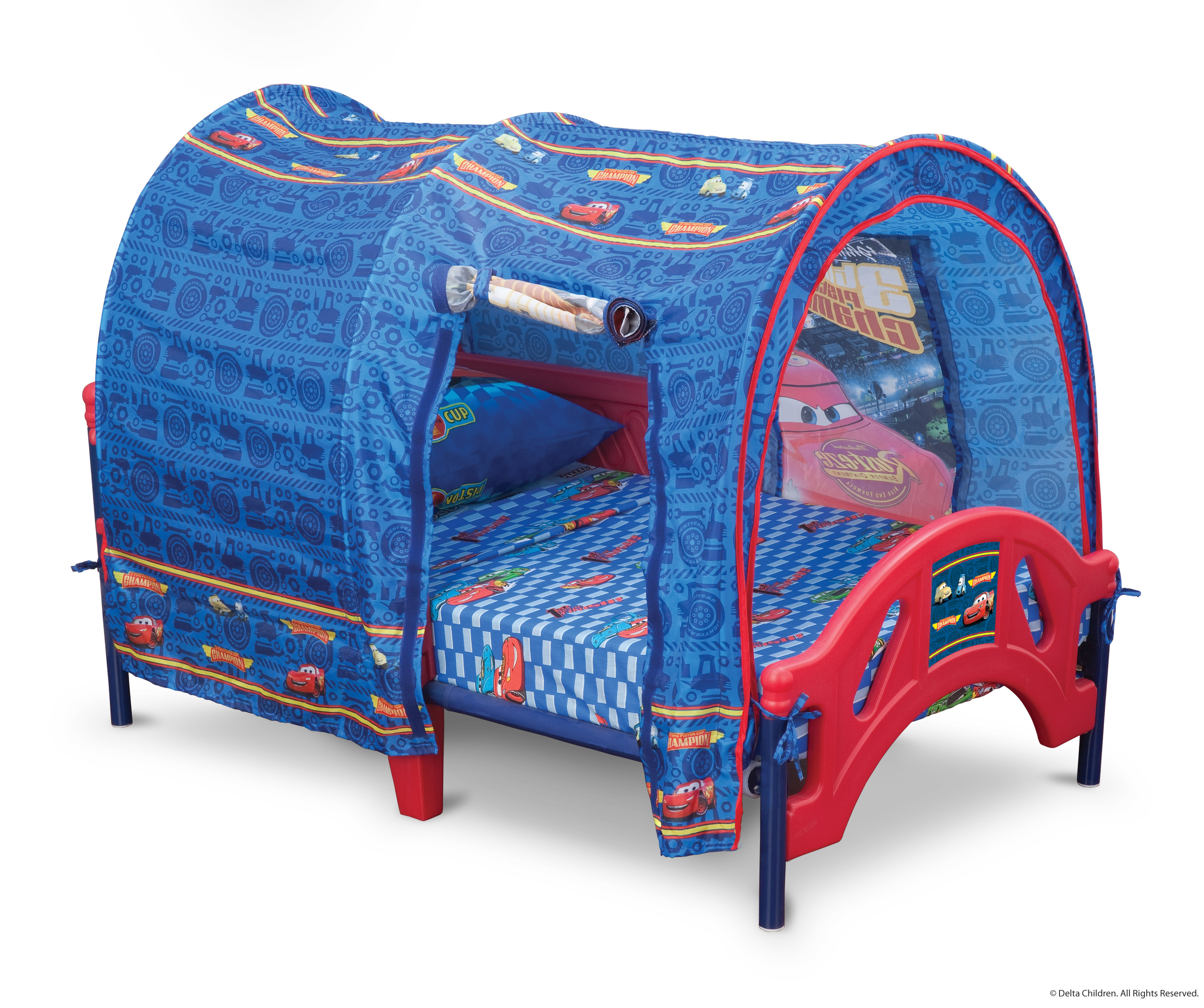 cars tent for toddler bed photo - 4