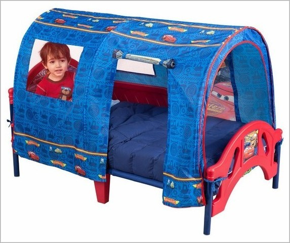 cars tent for toddler bed photo - 8