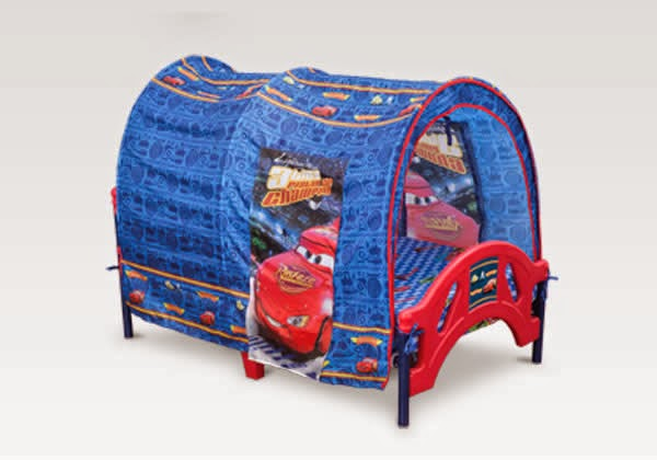 cars tent for toddler bed photo - 9