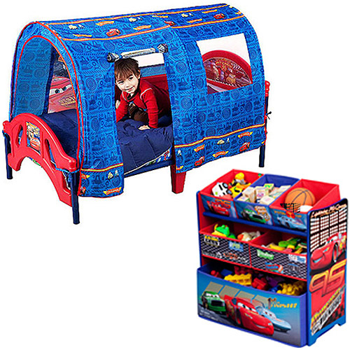 Cars toddler bed with tent | Hawk Haven