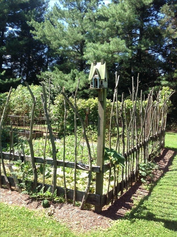 cheap vegetable garden fence photo - 8
