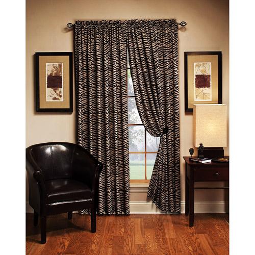 cheetah print bedroom curtains photo - 7