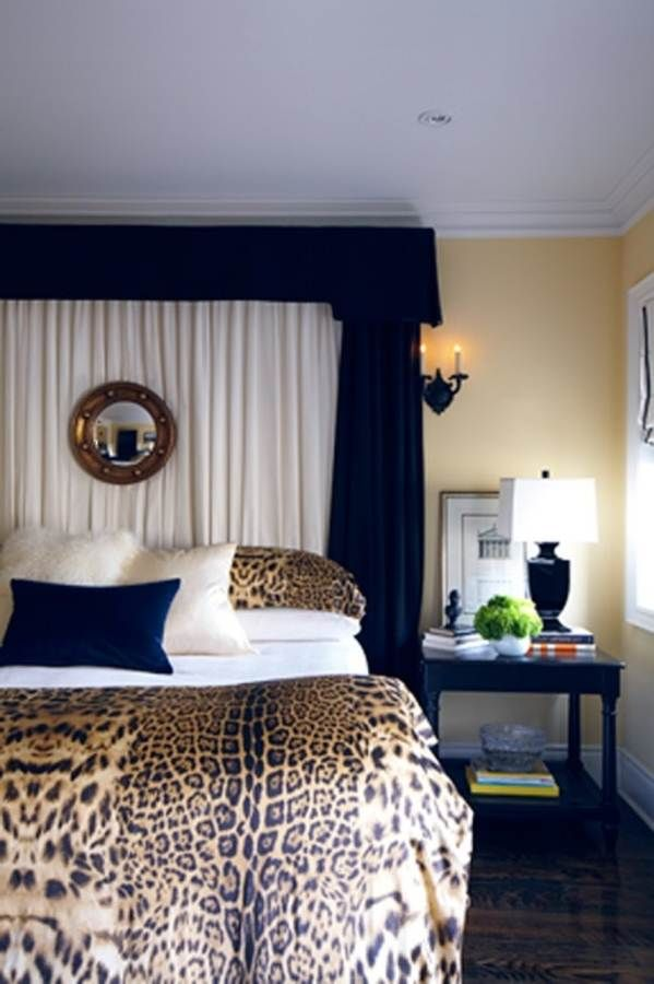 cheetah print bedroom ideas photo - 7