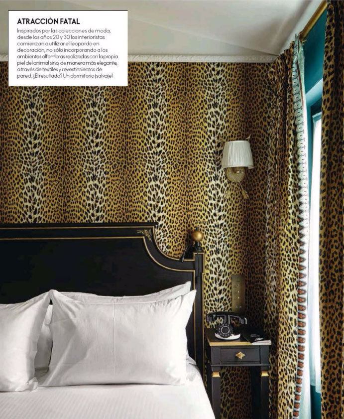 cheetah print bedroom wallpaper photo - 10