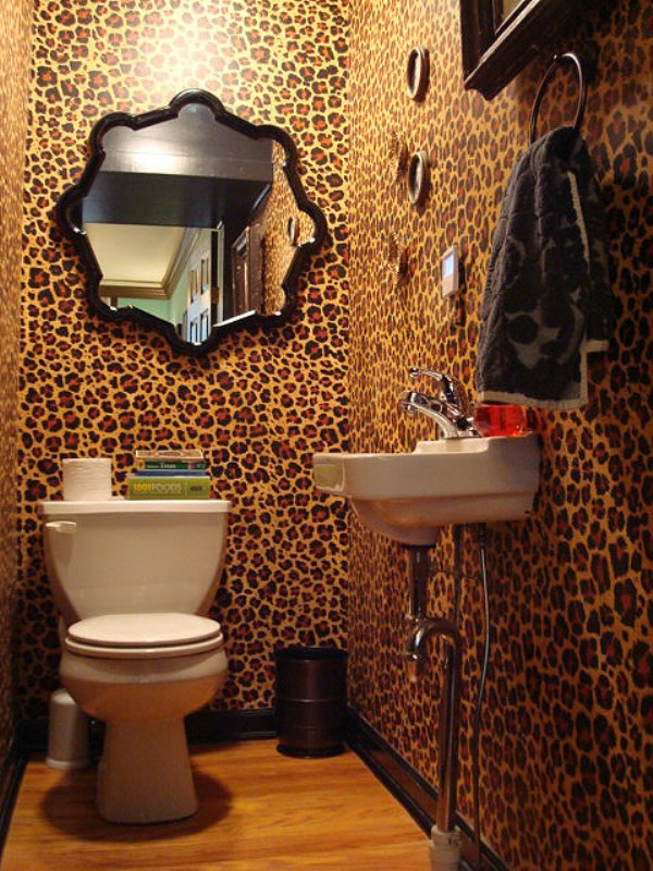 cheetah print bedroom wallpaper photo - 8