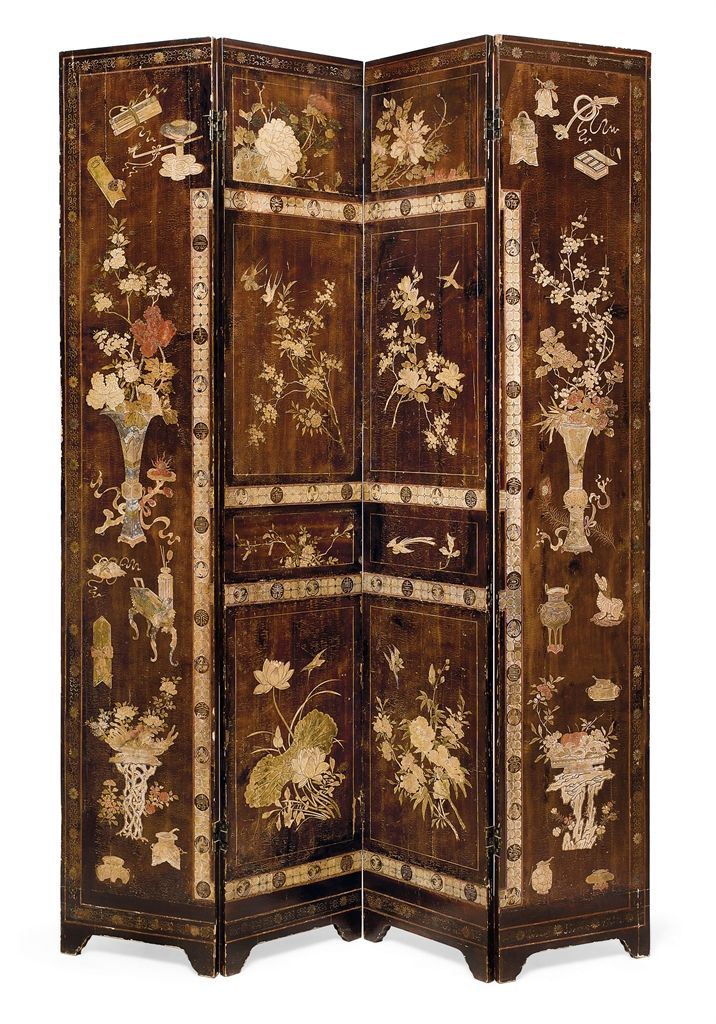 chinese room dividers antique photo - 2