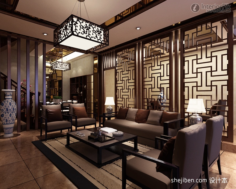 chinese style room dividers photo - 1