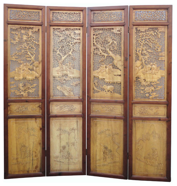 chinese wall room dividers photo - 3